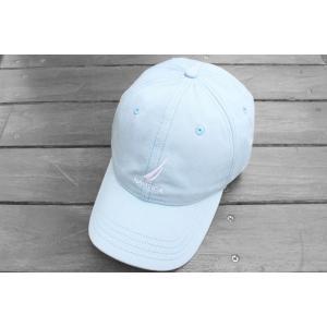 ノーティカ ロゴ  ベースボール キャップ ライトブルー / NAUTICA LOGO BASEBALL CAP [LIGHT BLUE]|breaks-general-store