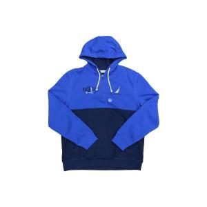 ノーティカ クォーター ジップ アクティブ フーディー パーカー ネイビー ブルー / NAUTICA QUARTER ZIP ACTIVE HOODIE [NAVY/BLUE]|breaks-general-store