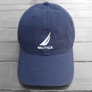 ノーティカ ロゴ  ベースボール キャップ ネイビー / NAUTICA LOGO BASEBALL CAP [NAVY]|breaks-general-store