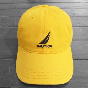 ノーティカ ロゴ  ベースボール キャップ イエロー / NAUTICA LOGO BASEBALL CAP [YELLOW]|breaks-general-store