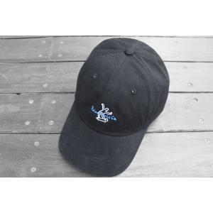 ポーラー スケート ウェービー スケーター キャップ ブラック 帽子 / POLAR SKATE CO. WAVY SKATER CAP [BLACK]|breaks-general-store