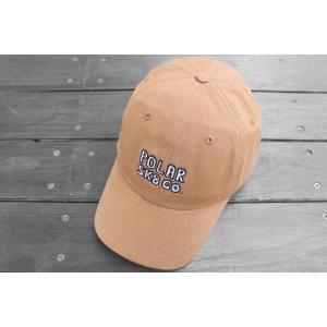 ポーラー スケート SK8 キャップ キャメル 帽子 / POLAR SKATE CO. SK8 CO CAP [CAMEL]|breaks-general-store