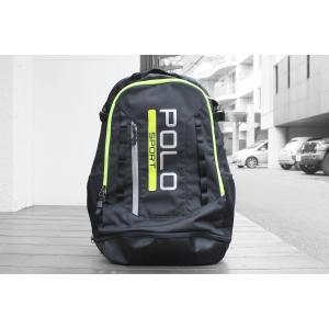 ポロ スポーツ ラップトップ バックパック ブラック ポロスポ / POLO SPORT LAPTOP BACKPACK [BLACK]|breaks-general-store