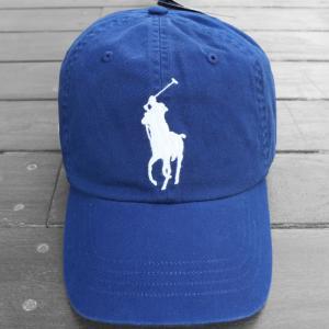 ポロ ラルフローレン ビッグ ポニー ベースボール キャップ ブルー / POLO RALPH LAUREN BIG PONY BASEBALL CAP [BLUE]|breaks-general-store