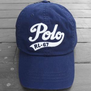 ポロ ラルフローレン RL-67 ベースボール キャップ ネイビー / POLO RALPH LAUREN RL-67 BASEBALL CAP [NAVY] breaks-general-store