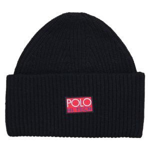 ポロ ラルフローレン ハイテック ビーニー ニット帽 ブラック / POLO RALPH LAUREN HI TECH BEANIE [BLACK]|breaks-general-store