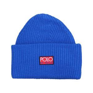 ポロ ラルフローレン ハイテック ビーニー ニット帽 ブルー / POLO RALPH LAUREN HI TECH BEANIE [BLUE] breaks-general-store