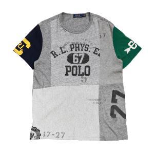 ポロ ラルフローレン パッチワーク Tシャツ マルチ / POLO RALPH LAUREN PATCHWORK S/S TEE [MULTI]|breaks-general-store