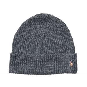 ポロ ラルフローレン ベーシック ビーニー チャコール ニット帽 帽子 / POLO RALPH LAUREN BASIC BEANIE [CHARCOAL] breaks-general-store