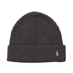 ポロ ラルフローレン ベーシック ビーニー ブラウン ニット帽 帽子 / POLO RALPH LAUREN BASIC BEANIE [BROWN] breaks-general-store