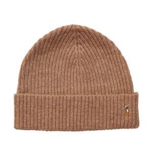 ポロ ラルフローレン ベーシック ビーニー キャメル ニット帽 帽子 / POLO RALPH LAUREN BASIC BEANIE [CAMEL] breaks-general-store