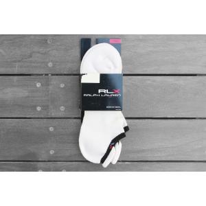 RLX アンクル ソックス ホワイト / RLX ANKLE SOCKS [WHITE/BLACK]|breaks-general-store