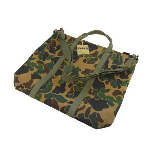 ダブルアールエル ダックカモ 迷彩 2ウェイ バッグ 鞄 ショルダー トート/ RRL DUCK CAMO 2WAY BAG|breaks-general-store