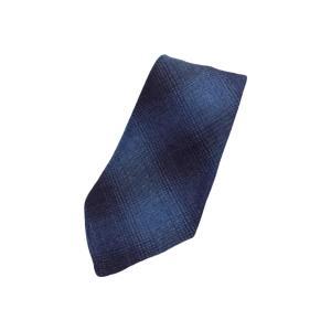 ダブルアールエル オンブレ ブルー チェック ネクタイ / RRL HOMBRE BLUE CHECK TIE|breaks-general-store