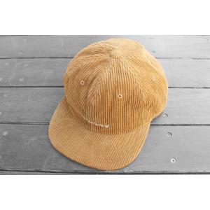 日本未発売 ステューシー コーデュロイ ストラップ バック キャップ ブラウン キャメル 帽子 / STUSSY CORD STRAPBACK CAP [CAMEL] breaks-general-store