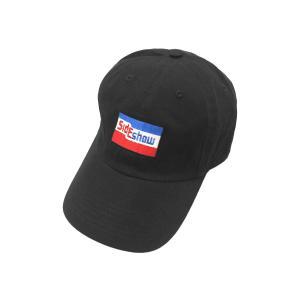 サイドショー ニューヨーク トリコロール カラー ロゴ キャップ 帽子 スケートショップ / SIDESHOW NYC TRICOLORE COLOR LOGO CAP|breaks-general-store