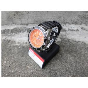 タイメックス インテリジェント クオーツ デプス オレンジ ブラック ダイバーズウォッチ / TIMEX INTELLIGENT QUARTZ DEPTH GAUGE ORANGE/BLACK T2N812 breaks-general-store