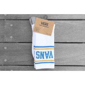 バンズ スケートソックス 靴下 ホワイト /VANS SK8 SOCKS [WHITE]|breaks-general-store