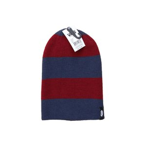 バンズ ボーダー ビーニー ネイビー バーガンディー / VANS MISMOEDIG BORDER BEANIE [NAVY/BURGUNDY]|breaks-general-store