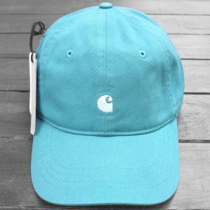 カーハート WIP マディソン ロゴ キャップ ソフト ティール / CARHARTT WIP MADISON LOGO CAP [SOFT TEAL]|breaks-general-store