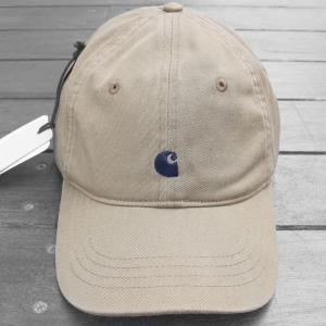カーハート WIP マディソン ロゴ キャップ レザー カーキ ベージュ / CARHARTT WIP MADISON LOGO CAP [KHAKI]|breaks-general-store