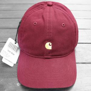 カーハート WIP マディソン ロゴ キャップ バーガンディ / CARHARTT WIP MADISON LOGO CAP [BURGUNDY]|breaks-general-store