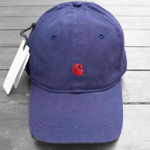 カーハート WIP マディソン ロゴ キャップ ネイビー / CARHARTT WIP MADISON LOGO CAP [NAVY]|breaks-general-store
