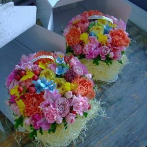フラワーケーキ タルト 誕生日 記念日 出産祝...の詳細画像1
