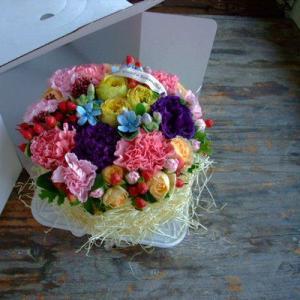 フラワーケーキ タルト 誕生日 記念日 出産祝...の詳細画像2