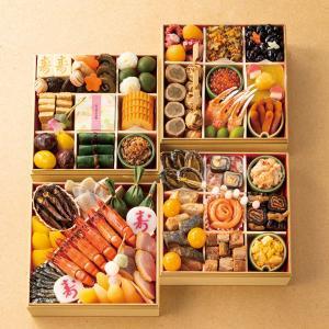 おせち 京菜味のむら 京風おせち 朱雀 四段重|breezebox