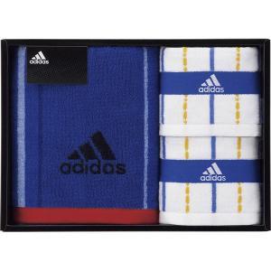 adidas アディダス ブラオ フェイスタオル&タオルハンカチ2P 06-3629200 内祝い お返し 引出物 結婚 出産 快気祝い 香典返し|breezebox
