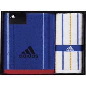 adidas アディダス ブラオ バスタオル&フェイスタオル 06-3629400 内祝い お返し 引出物 結婚 出産 快気祝い 香典返し|breezebox