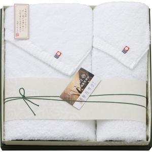 矢野 紋織謹製 白たおる 今治バスタオル&フェイスタオル YN5049 内祝い お返し 引出物 結婚 出産 快気祝い 香典返し|breezebox