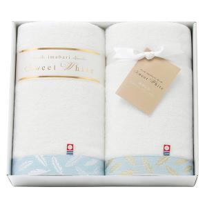 今治 スイートホワイト バスタオル2P 62210 内祝い お返し 引出物 結婚 出産 快気祝い 香典返し|breezebox