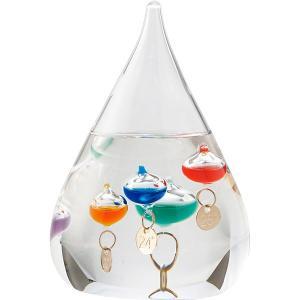 包装・のし無料*ガラスフロート温度計 しずくS 333-203 (お返し 結婚 出産 快気 法事 香典返し)|breezebox