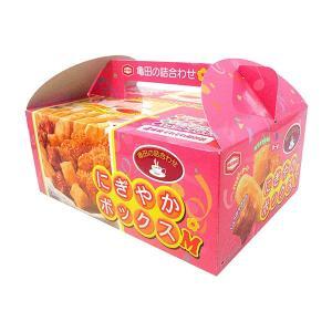 包装・のし無料*亀田製菓 にぎやかボックスM 10048 (お返し 結婚 出産 快気 法事 香典返し)|breezebox