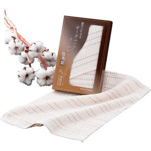 包装・のし無料*大地の恵み 西川のオーガニックコットン フェイスタオル 2223-11292 (お返し 結婚 出産 快気 法事 香典返し)|breezebox