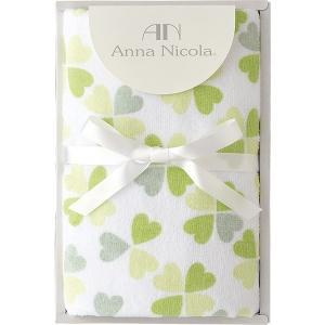 包装・のし無料*アンナ・ニコラ クローバー フェイスタオル グリーン A-35503 (お返し 結婚 出産 快気 法事 香典返し)|breezebox