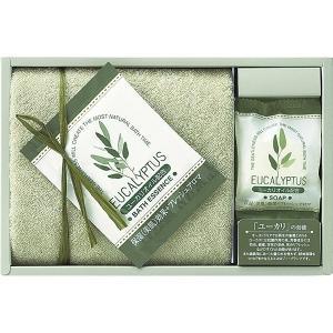 包装・のし無料*ユーカリハーモニー タオルセット グリーン Y-81503 (お返し 結婚 出産 快気 法事 香典返し) breezebox