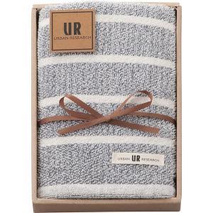 包装・のし無料*アーバンリサーチ フェイスタオル ブルー UR2110 (お返し 結婚 出産 快気 法事 香典返し) breezebox