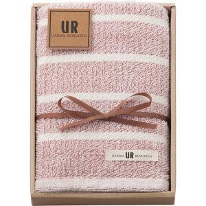 包装・のし無料*アーバンリサーチ フェイスタオル レッド UR2110 (お返し 結婚 出産 快気 法事 香典返し) breezebox