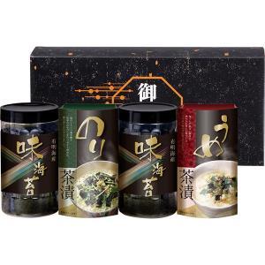 包装・のし無料*有明海産味付海苔・お茶漬け詰合せ LL-15 (お返し 結婚 出産 快気 法事 香典返し)|breezebox