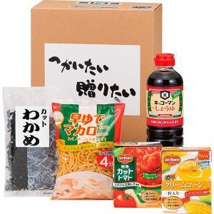 包装・のし無料*つかいたい贈りたい 便利食品ギフトお得Wセット LTM-15WA (お返し 結婚 出産 快気 法事 香典返し)|breezebox