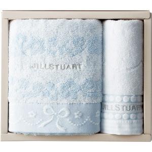 包装・のし無料*ジルスチュアート ブルームリボン フェイスタオル&ウォッシュタオル 58-3129150 (お返し 結婚 出産 快気 法事 香典返し)|breezebox