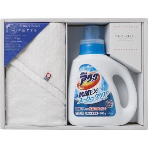 包装・のし無料*つかいたい贈りたい 今治製タオル・アタックジェルセット LAN-1506B (お返し 結婚 出産 快気 法事 香典返し) breezebox