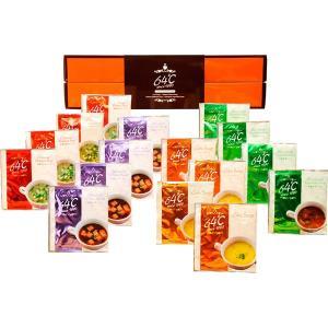 包装・のし無料*64℃ スープギフト M-S20 (お返し 結婚 出産 快気 法事 香典返し)|breezebox