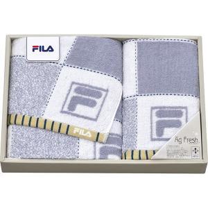 包装・のし無料*フィラ スペラーレ スポーツタオル&フェイスタオル グレー FL-2597 (お返し 結婚 出産 快気 法事 香典返し)|breezebox