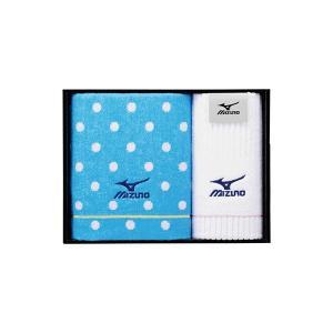 包装・のし無料*ミズノ GI-4 スポーツタオル&フェイスタオル MZ250500 (お返し 結婚 出産 快気 法事 香典返し)|breezebox
