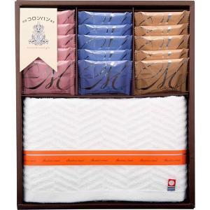 包装・のし無料*コロンバン&今治製タオルギフト COL-30 (お返し 結婚 出産 快気 法事 香典返し)|breezebox