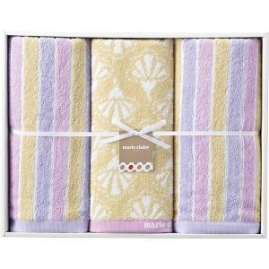 包装・のし無料*マリ・クレール フロール ウォッシュタオル&フェイスタオル2P MC-0030 (お返し 結婚 出産 快気 法事 香典返し)|breezebox